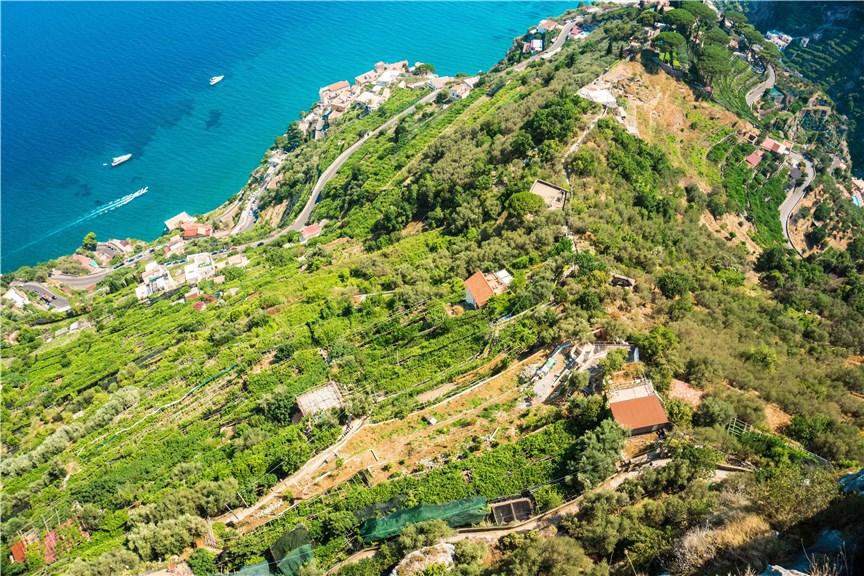 Zielone zbocza Ravello