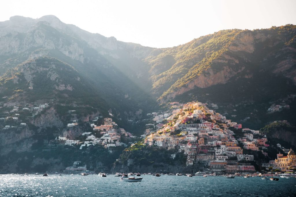 Włoskie wybrzeże Amalfi przewodnik