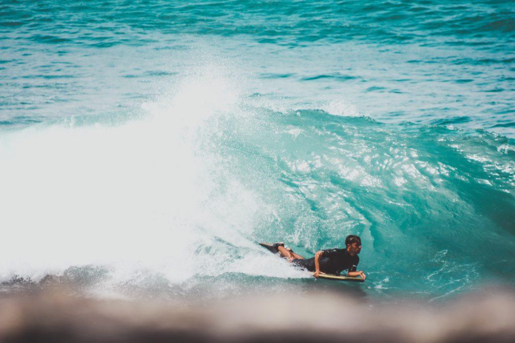 wakacje teneryfa surfing