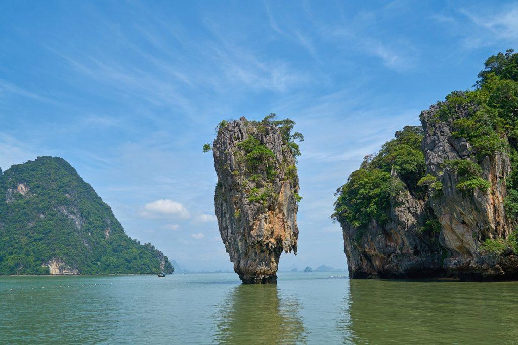 tajlandia wyspa james