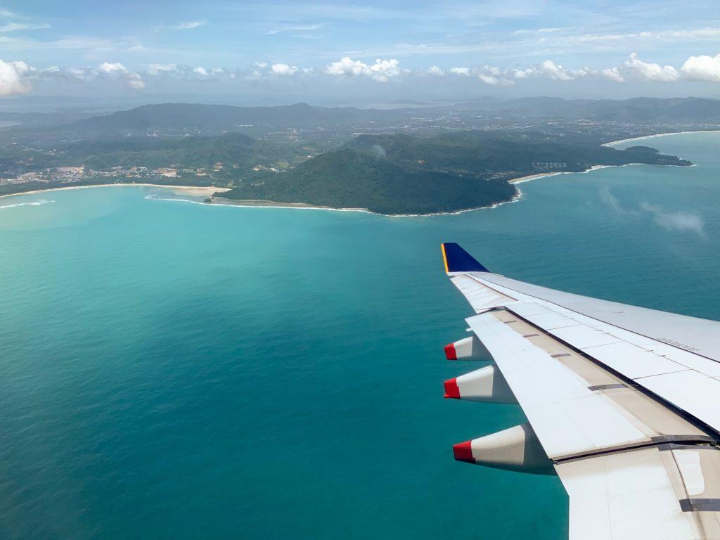 tajlandia z samolotu