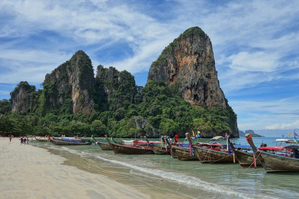 rejs w tajlandii plaża