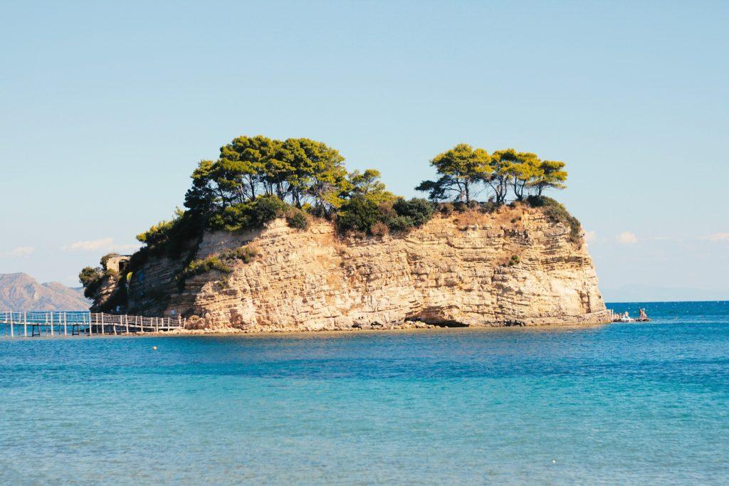 plaże na zakynthos wyspa cameo