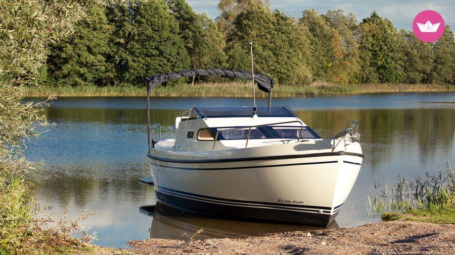 czarter łodzi motorowej bez patentu