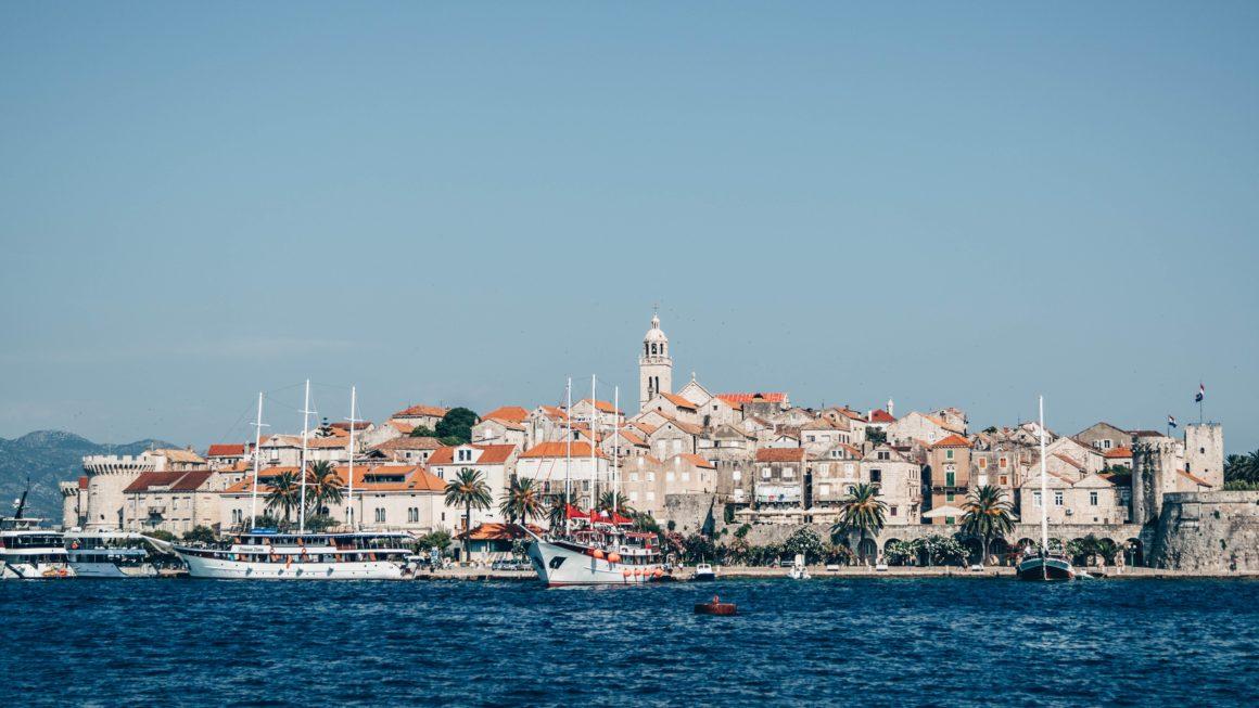 chorwackie wyspy korcula