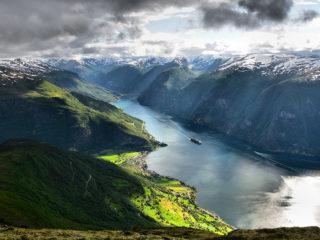 norwegia fjordy