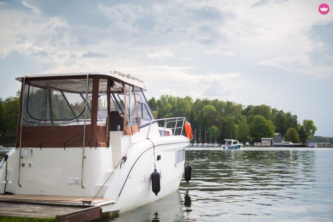 wynajem łodzi bez patentu mazury