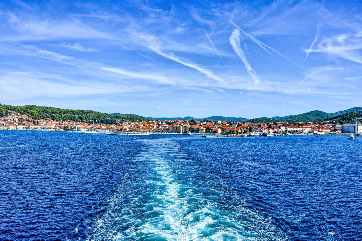 chorwackie wyspy korcula vela luka