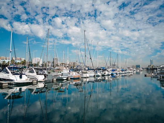 jachty port