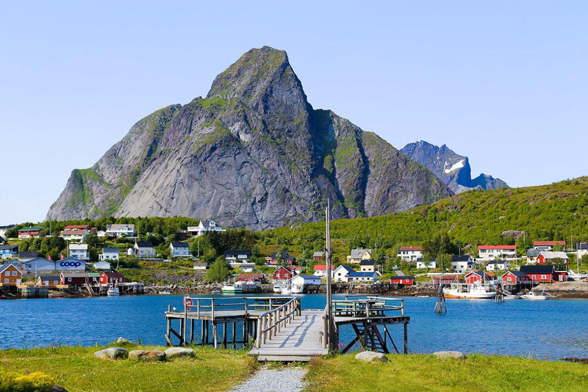 norwegia archipelag lofoty