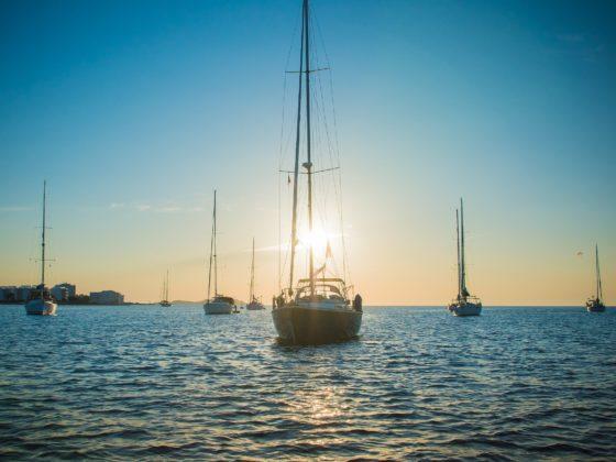 ibiza morze słońce jachty