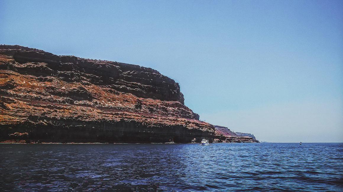 klify wybrzeże gran canaria