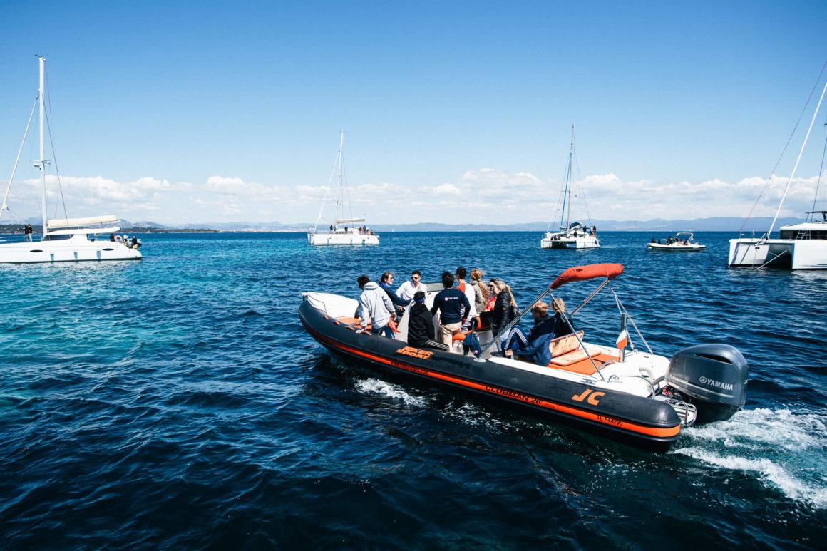 czarter jachtów online ponton rib