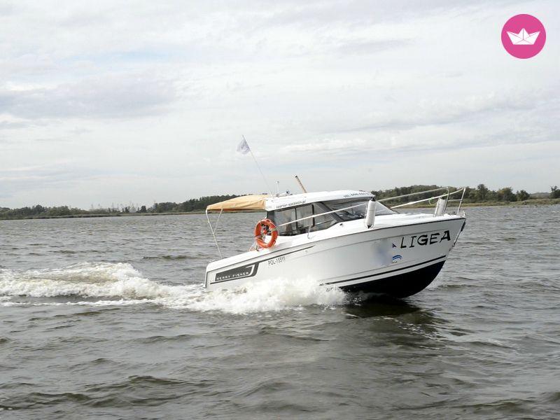 łódź motorowa szczecin