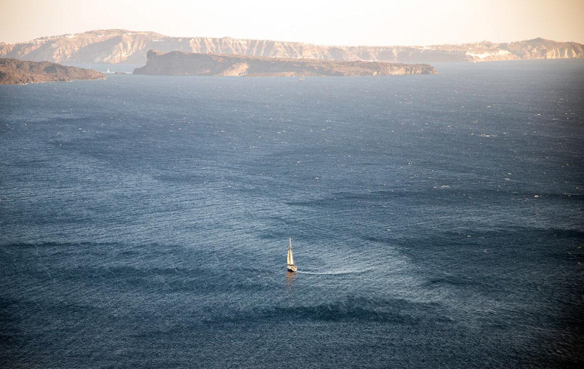 morze jacht grecja