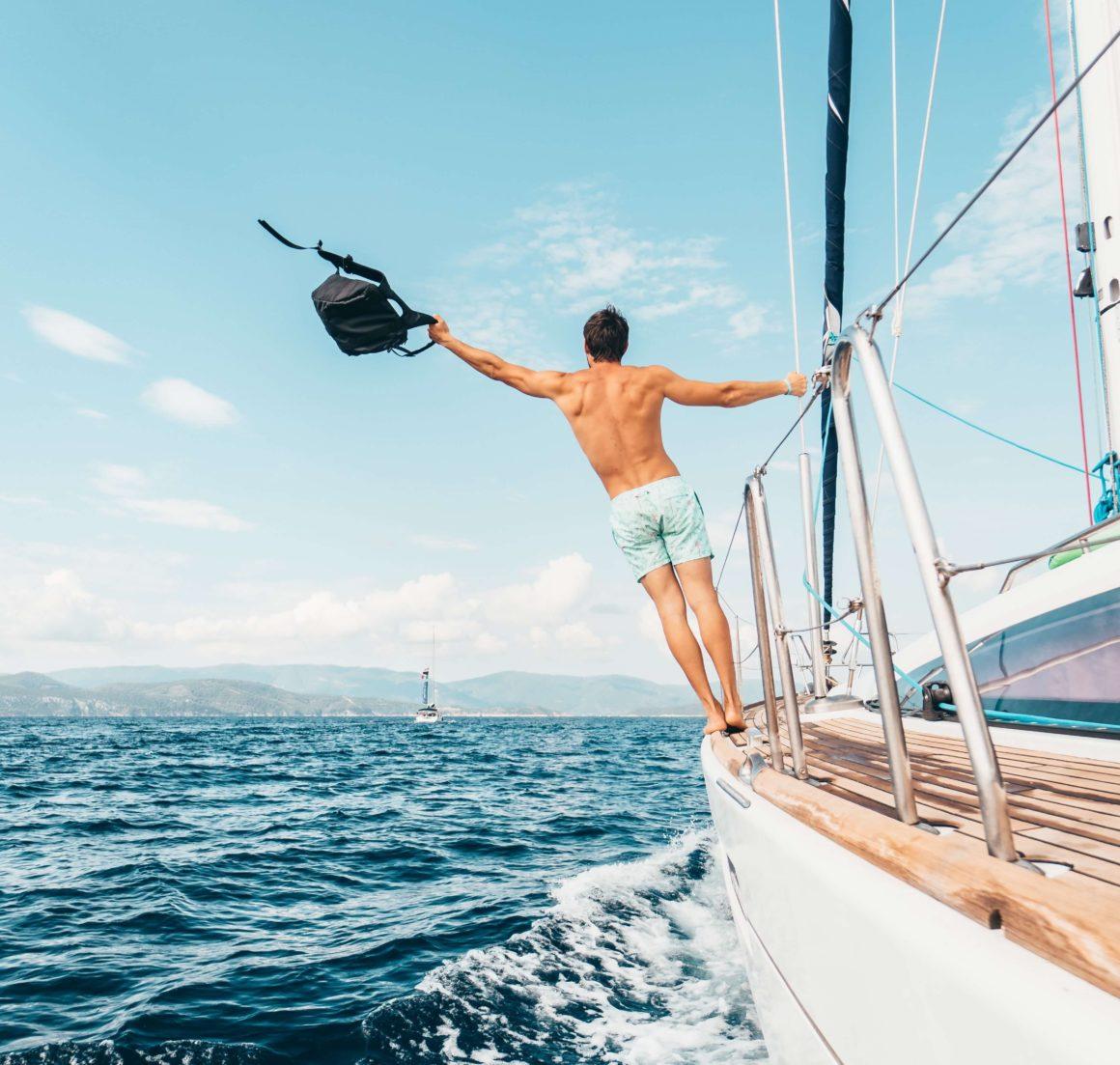Wakacyjny rejs, slow life na morzu