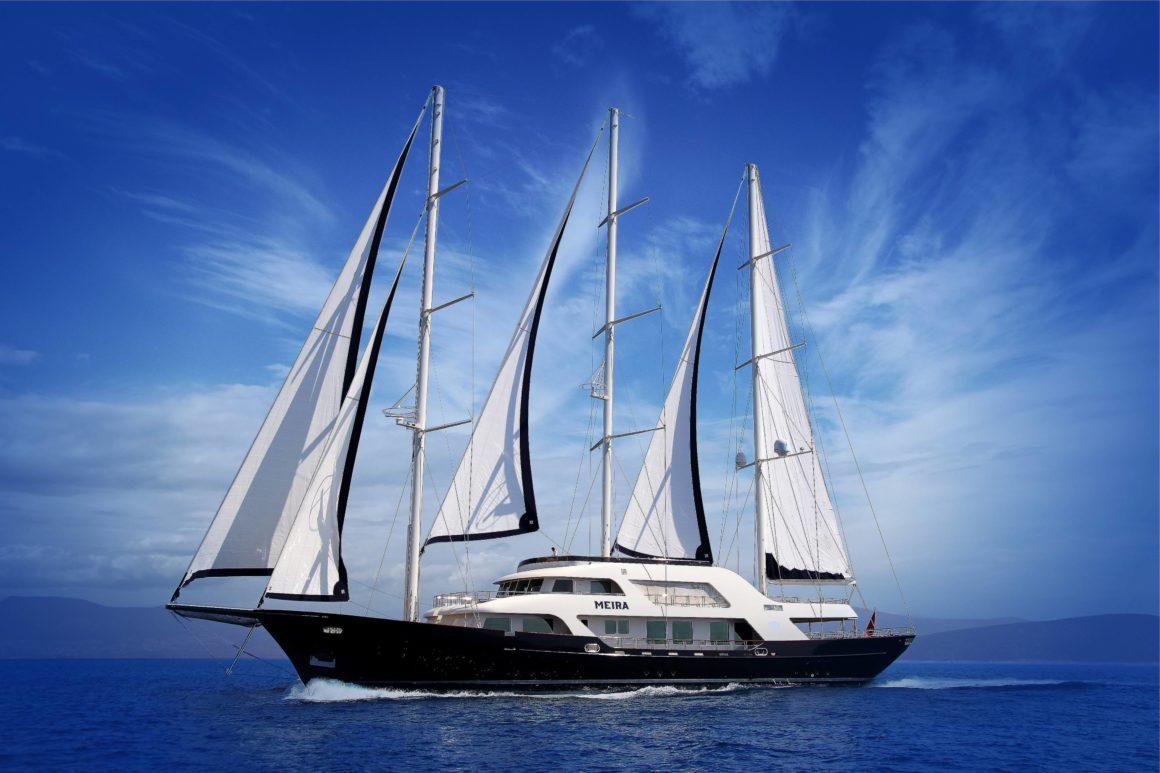 Czarter jachtu luksusowego Gulet-Meira w Bodrum w turcji