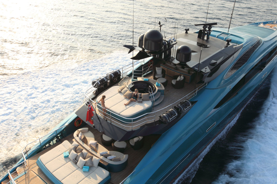 Jacht luksusowy Palmer&Johnson-150 na Click&Boat