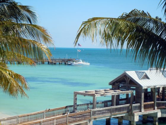 Turkusowe wody Key West na Florydzie