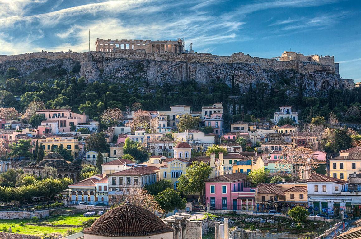 Romantyczny weekend dla par w Atenach
