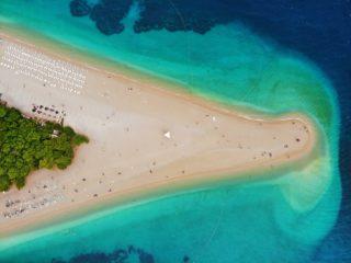 Zlatni Rat wyspa Bol Chorwacja