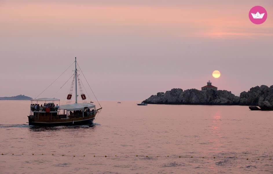Oryginale wakacje Unikatowy-jacht-Dubrownik