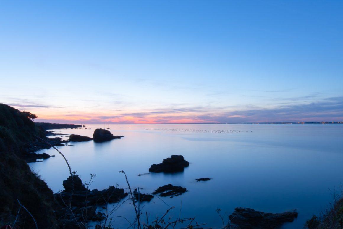 Francuskie wybrzeże Ile-de-Groix