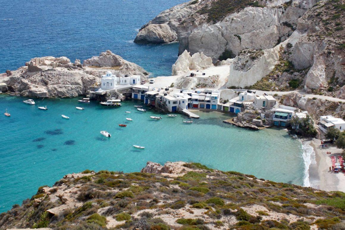 Najpiękniejsze wyspy na świecie Milos Grecja