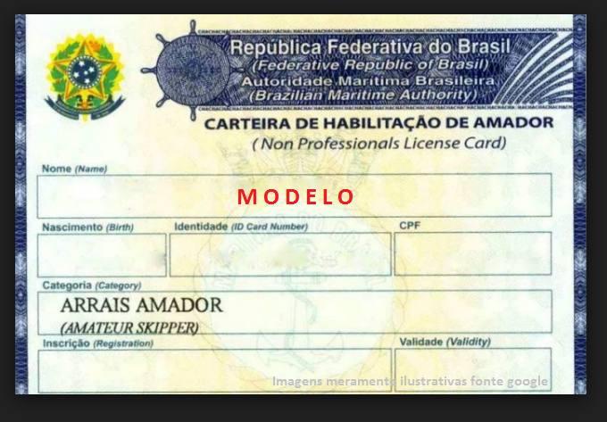 A carteira náutica no Brasil é obrigatória para a condução de qualquer tipo de barco