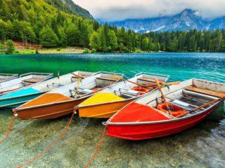 Alguns dos lagos mais bonitos do mundo sem dúvida estão na Itália!