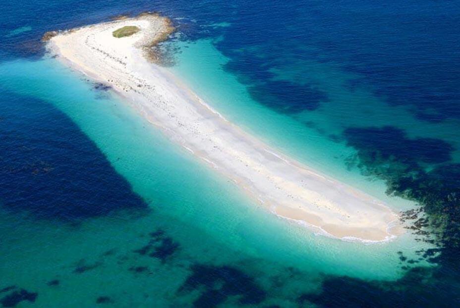 Ilhas de aparência caribenha em plena Europa, o que poderia ser melhor?