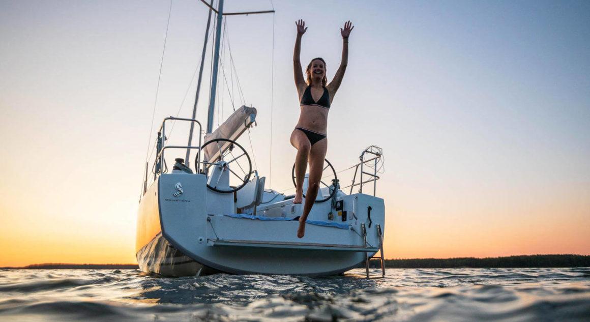 Se prepare para viver aventuras se escolher alugar um veleiro