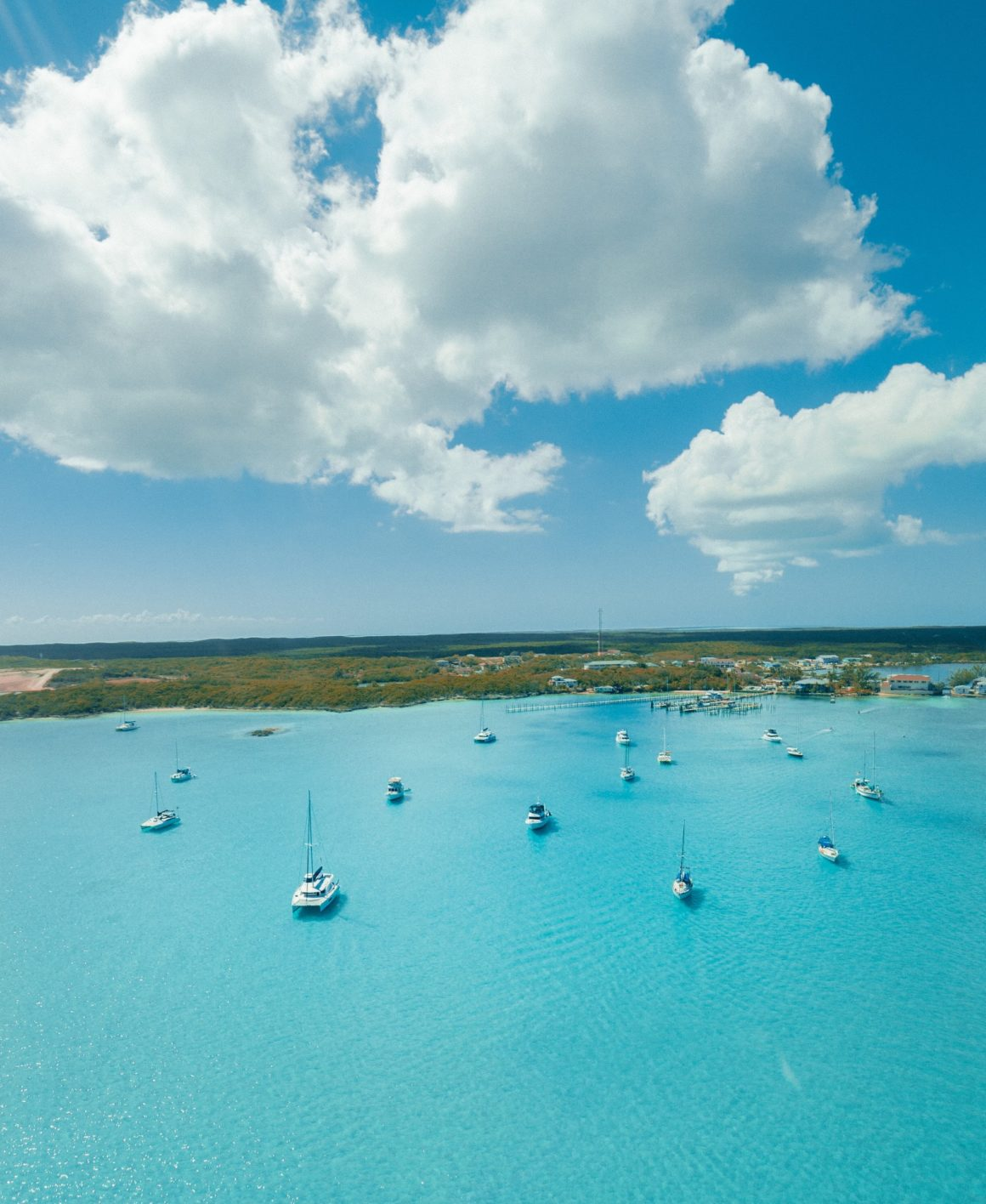 Algumas das mais emocionantes ilhas das Bahamas somente são acessíveis por barco
