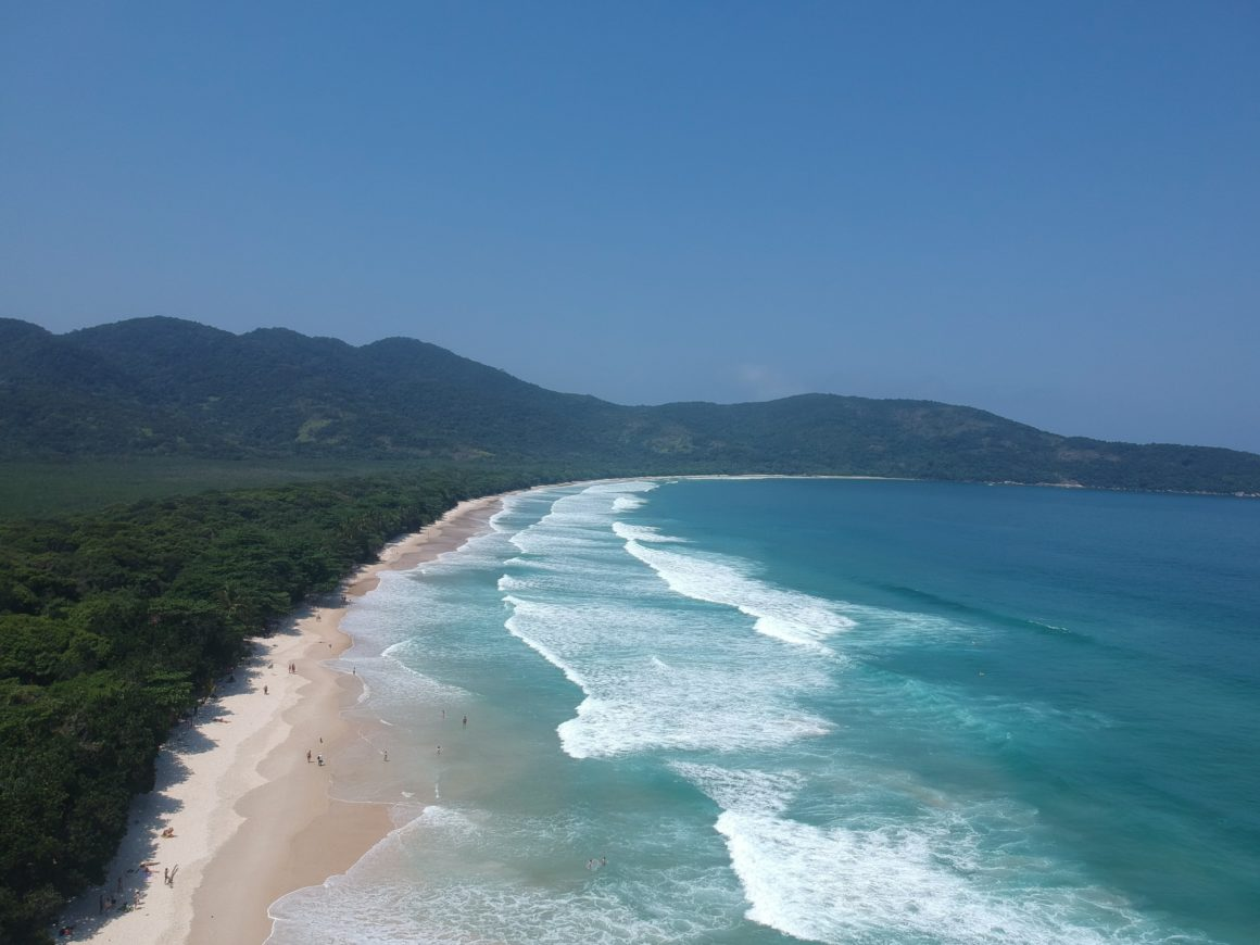 Vista Panorâmica da Praia Lopes Mendes - Fotógrafo Alexsandre Almeida