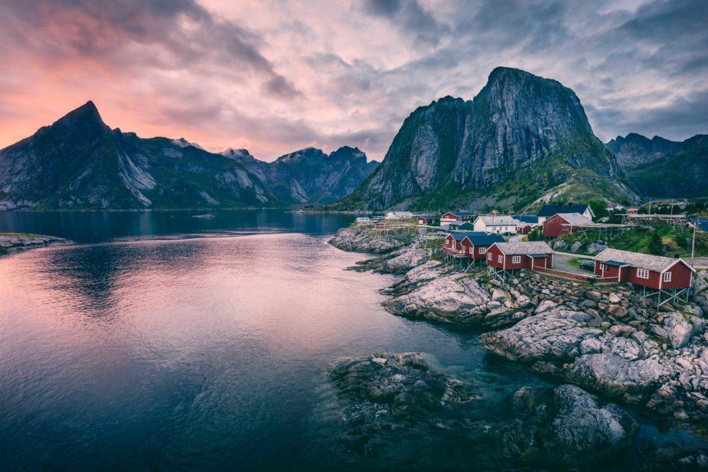 рыбачить в норвегии