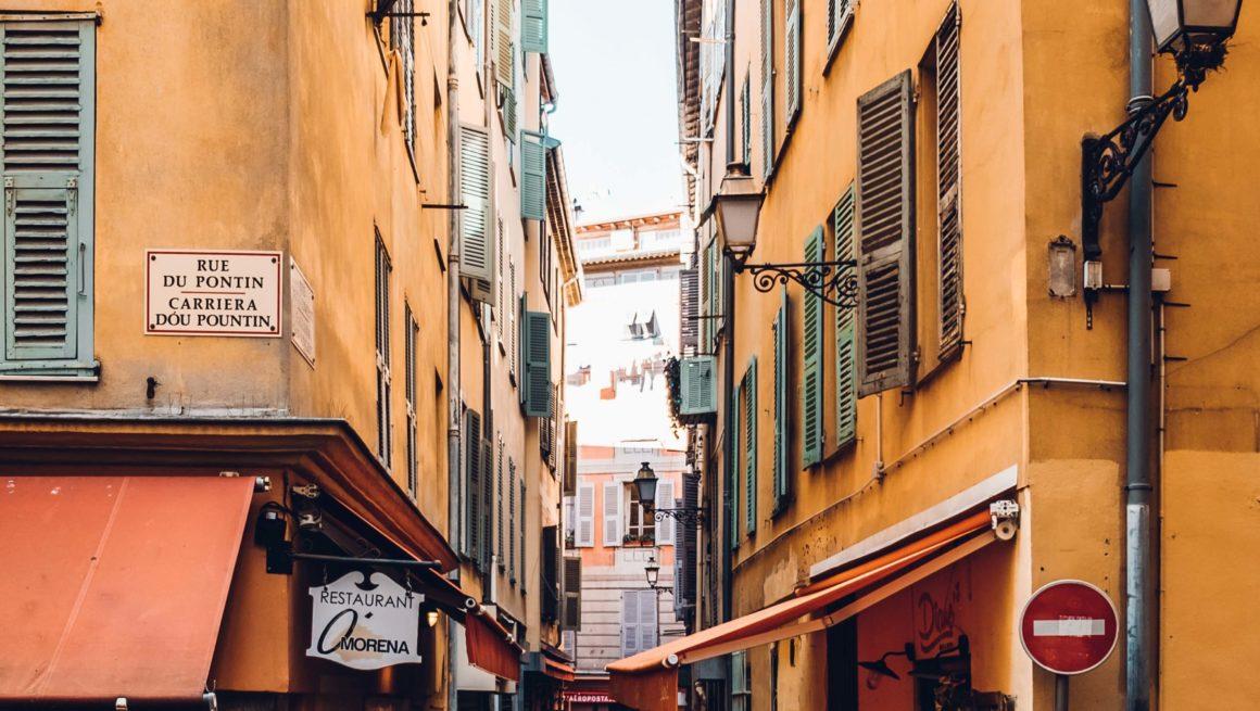 улица старой Ниццы