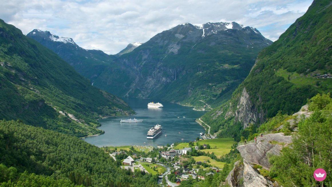 Норвежские фьорды у берегов Осло