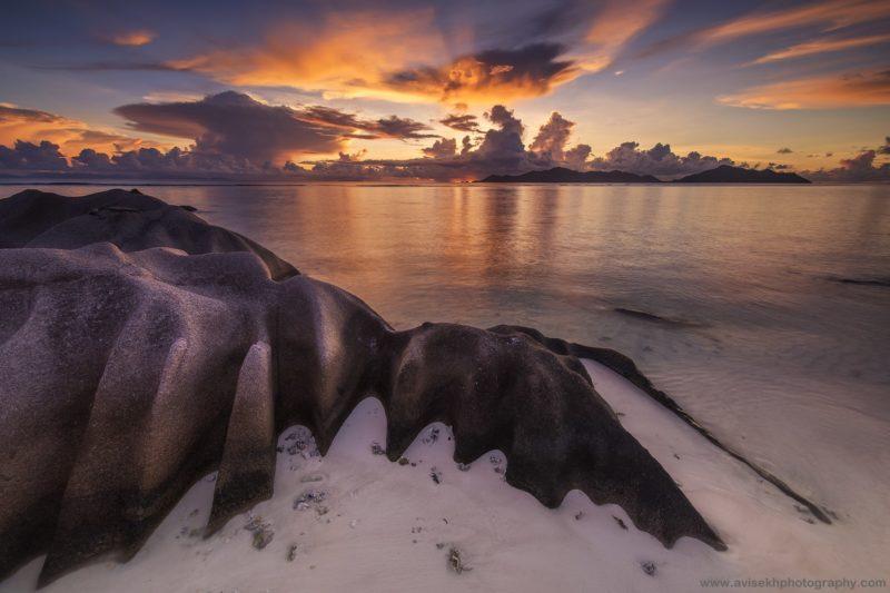 отдых на Сейшелах, розовый песок