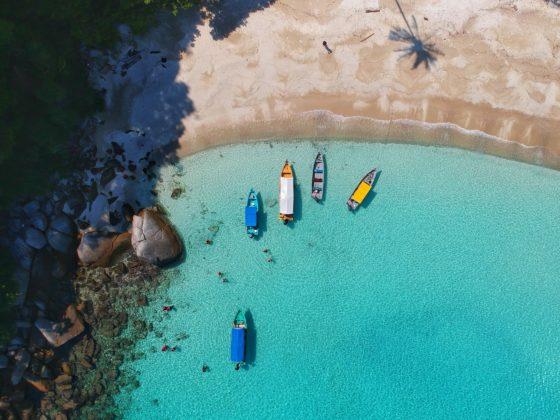 пляжный отдых лето 2021