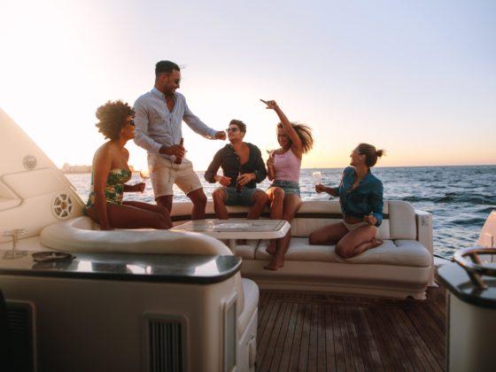 вечеринка на яхте