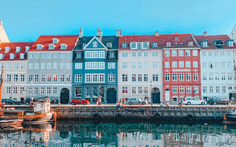 Nyhavn  Köpenhamn Semester i Danmark