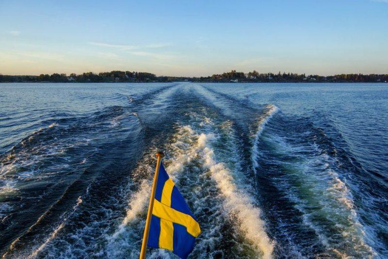 tur över dagen Stockholm