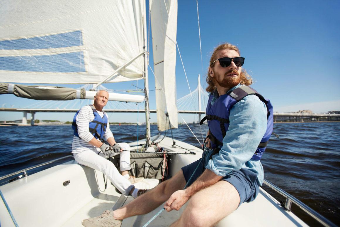 lära sig att segla med sjötermer