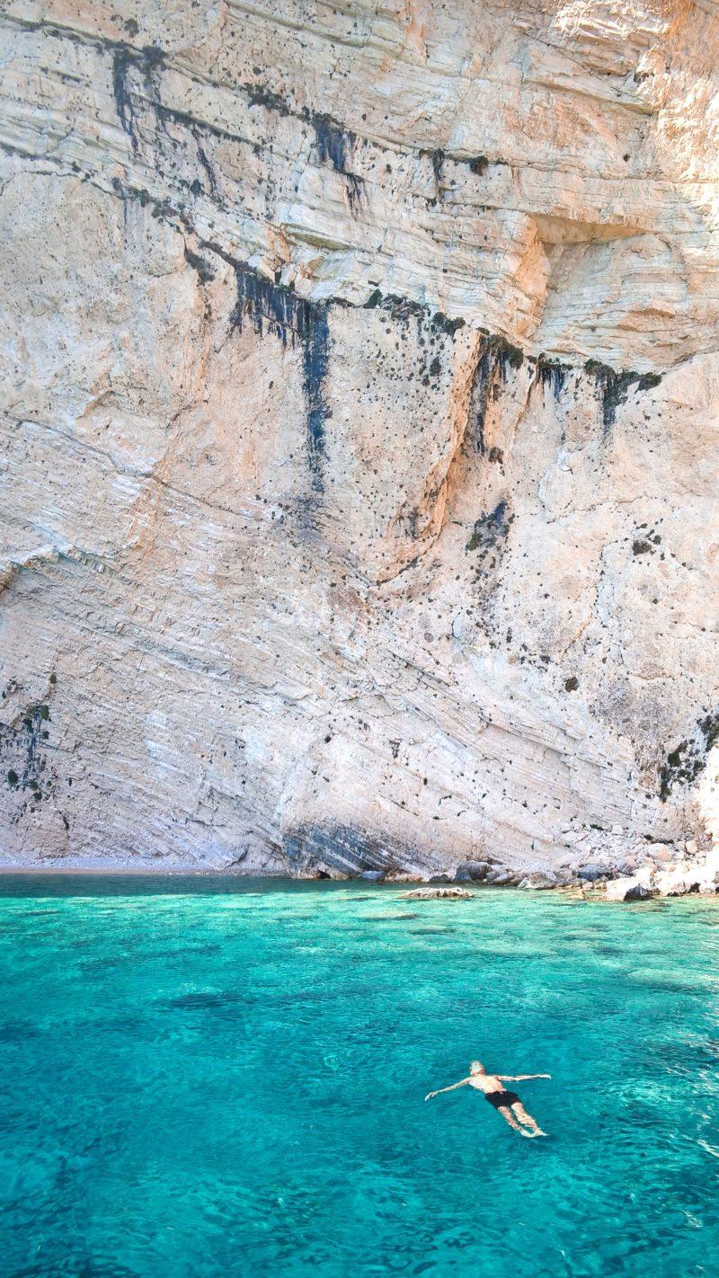 bad bland öar i Grekland