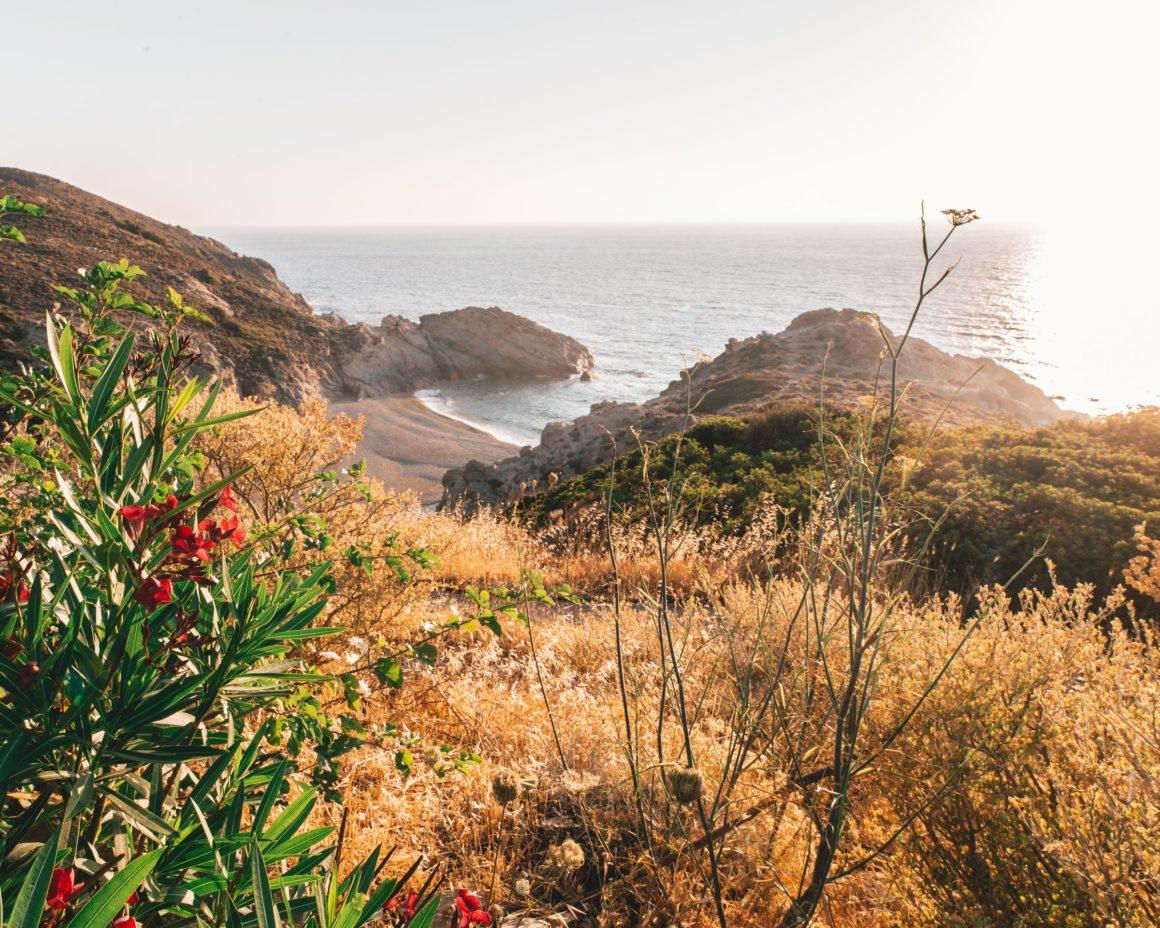 ikaria en av alla öar i grekland