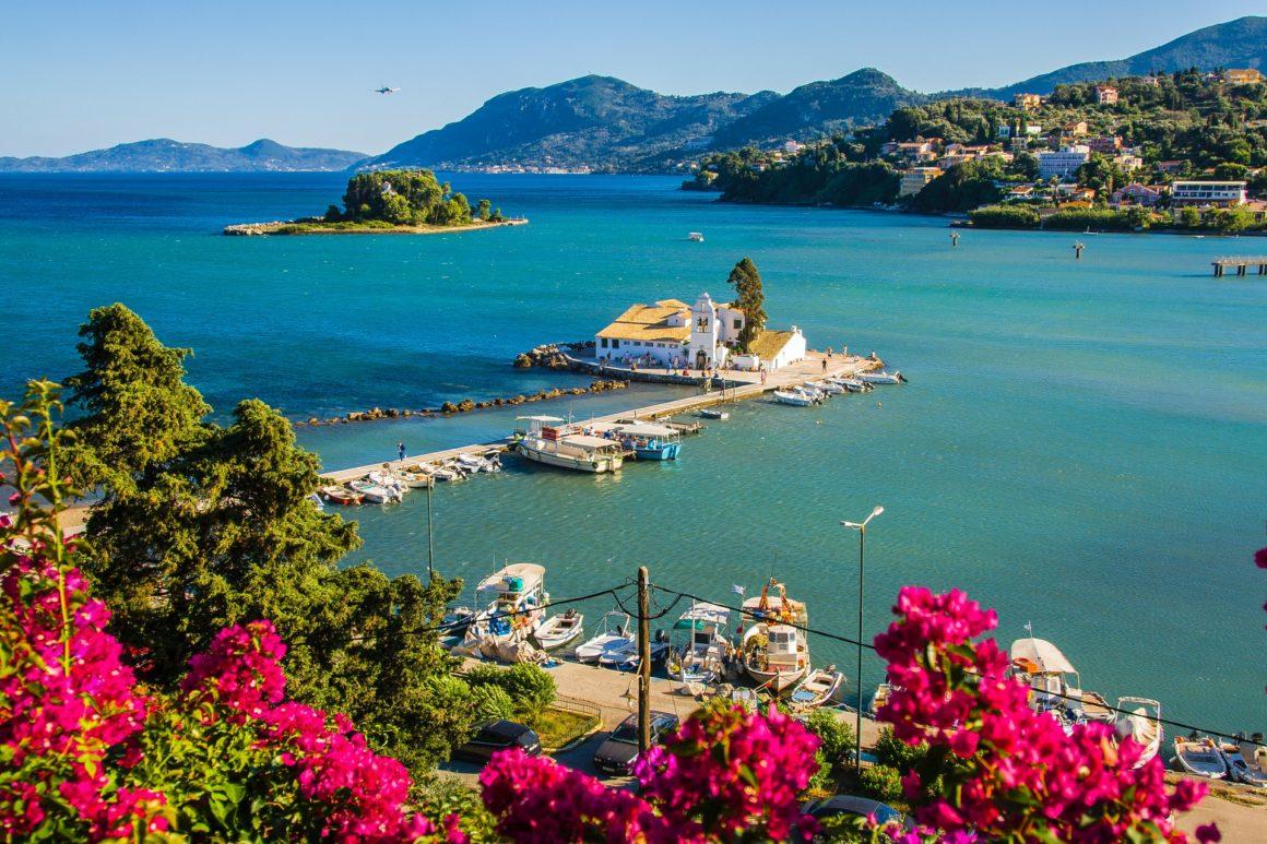 grönaste av öar i grekland