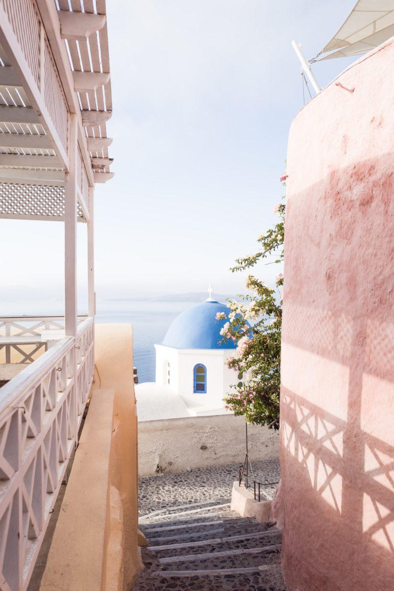 santorini öar i grekland