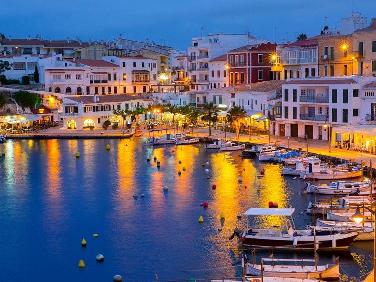 Sailing in Menorca