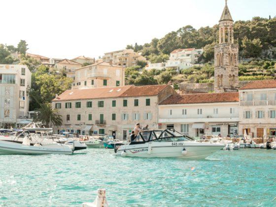 Port of Hvar, Croatia