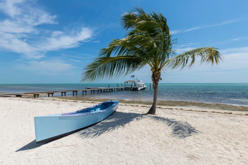 Beach in Islamorrada, Florida
